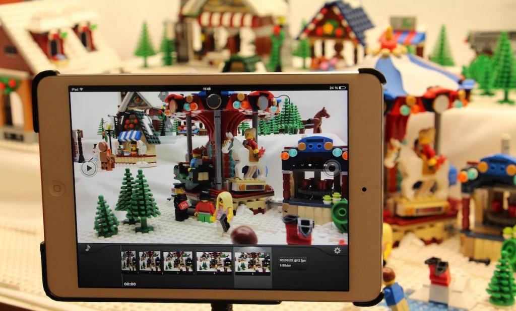 iPad als Kamera